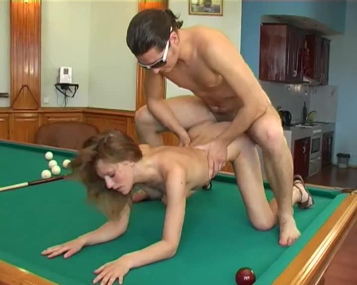 Порно проиграл в бильярд #12