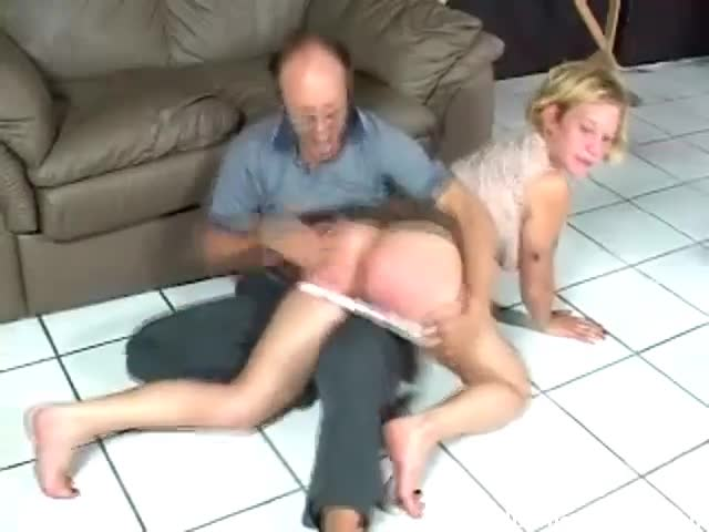 by man Spanked