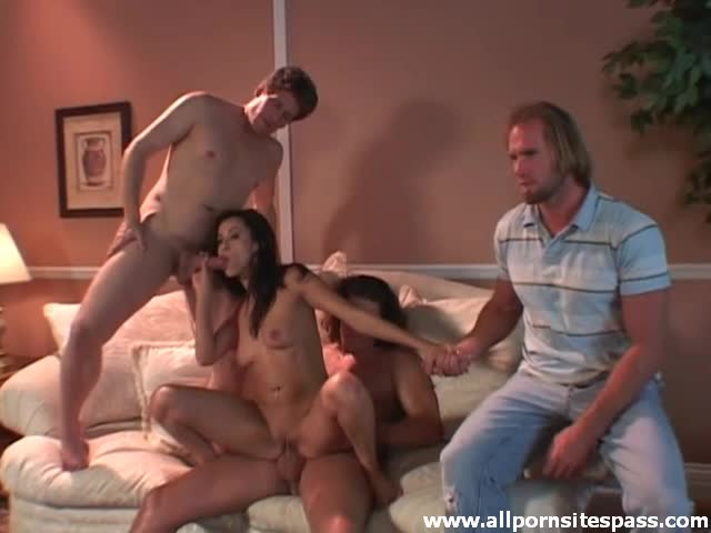 Behind The Scenes Gang Bang