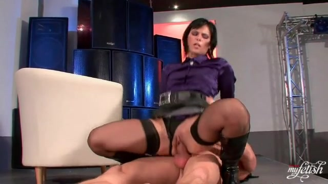 Satin Blouse Porn