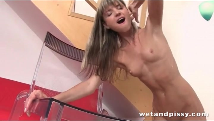tits peeing Small