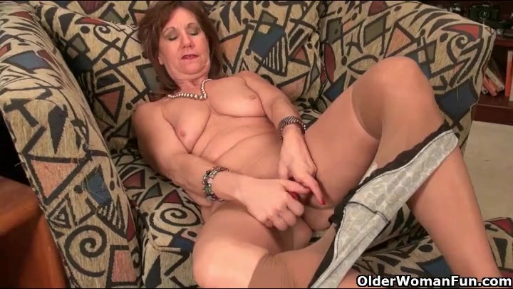 Amusing older lady strips really. join