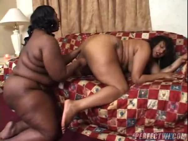 sex Fat ebony lesbian