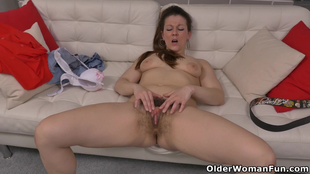 Think, that milf her lots american hairy vivi has of cunt fun with remarkable, the