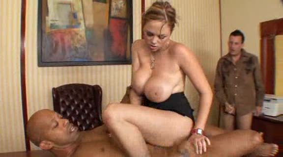 porn husband watches wife black dick